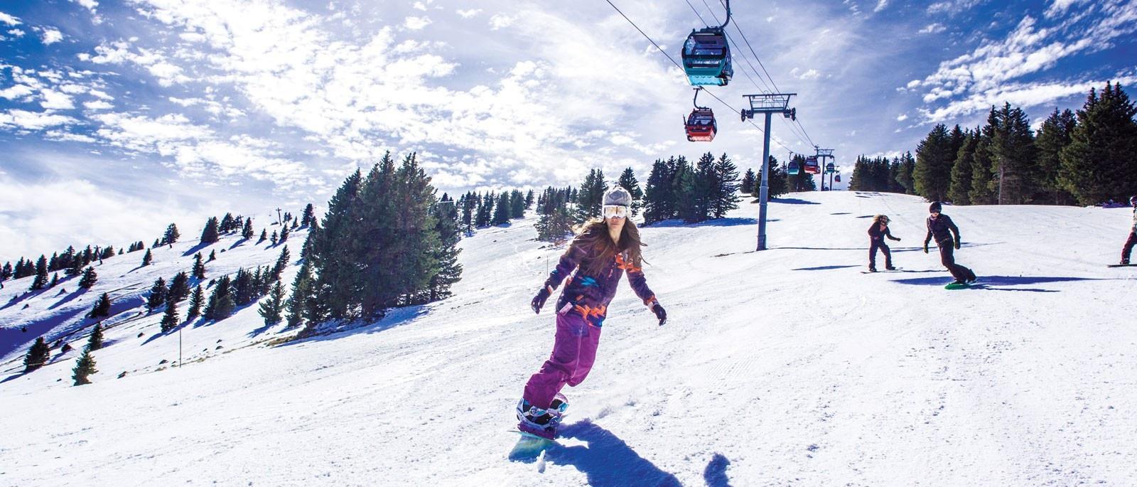 Esquiar Con Los Apaches Mescaleros En Nuevo M Xico