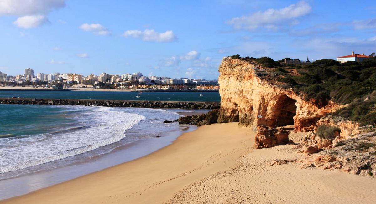 Portugal Praia grande Algarve