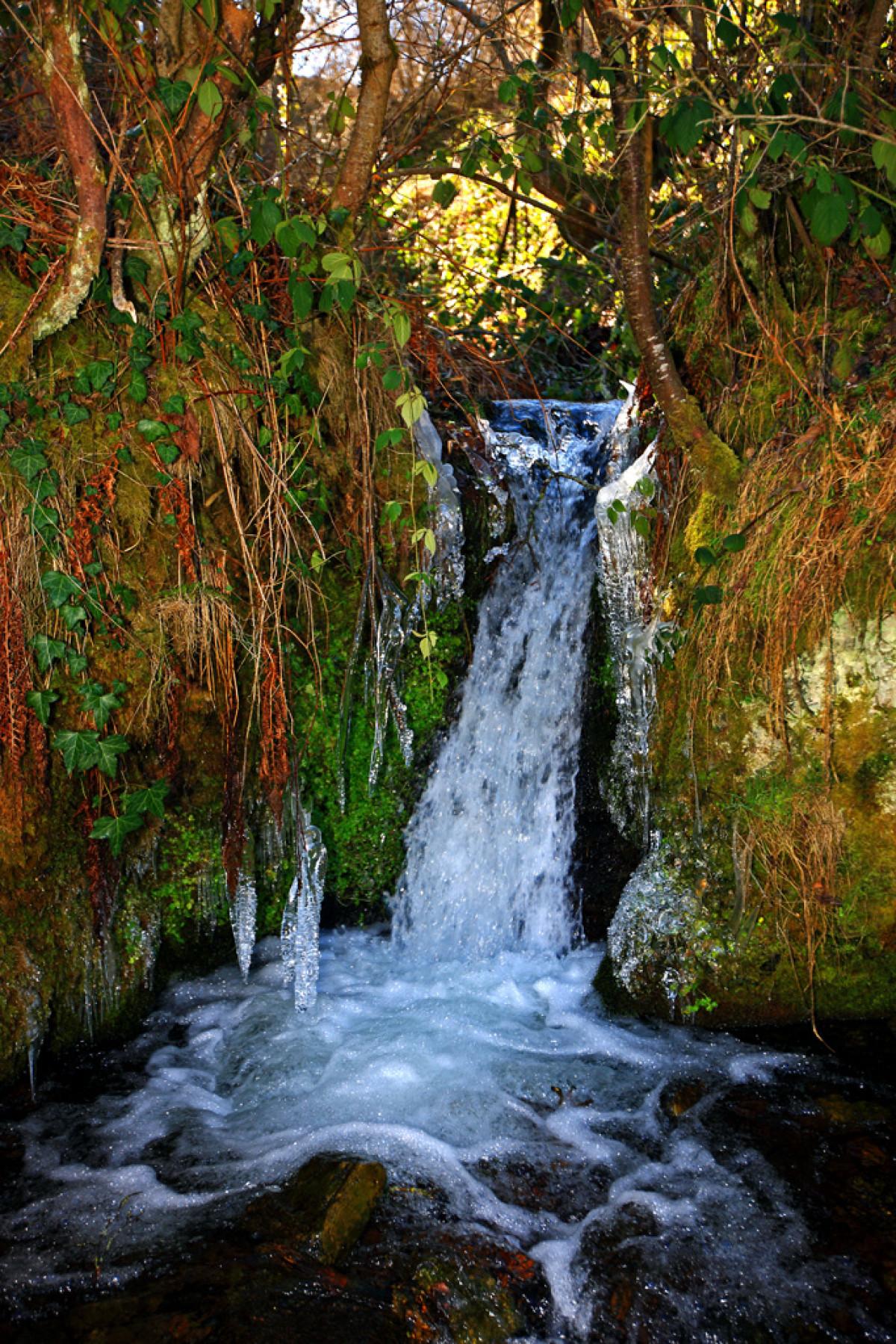 Semana Santa22. Cascada cerca de Carracedo
