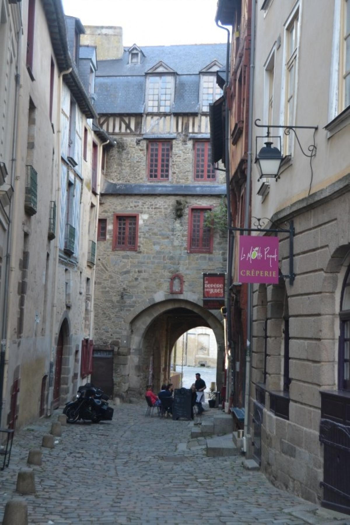Francia renne rue tipique