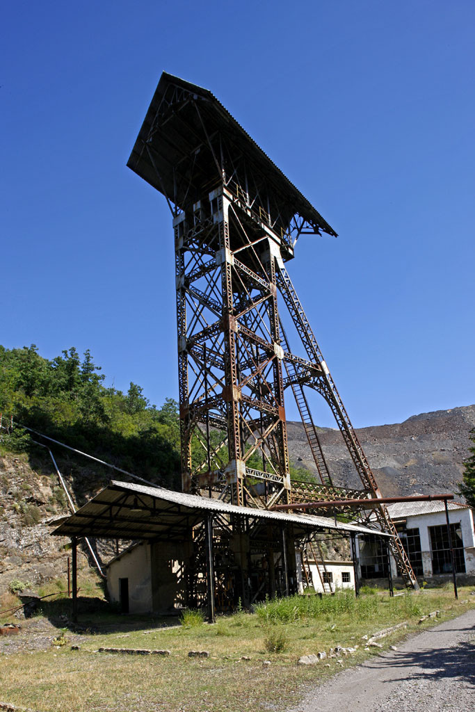 Reserva de la Biosfera del Alto Bernesga07. Conjunto Industrial del Pozo Ibarra