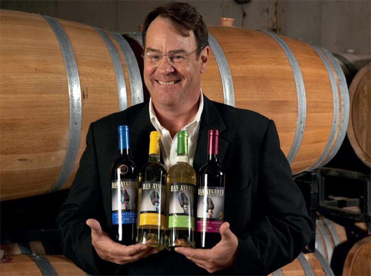 Dan aykroyd winery