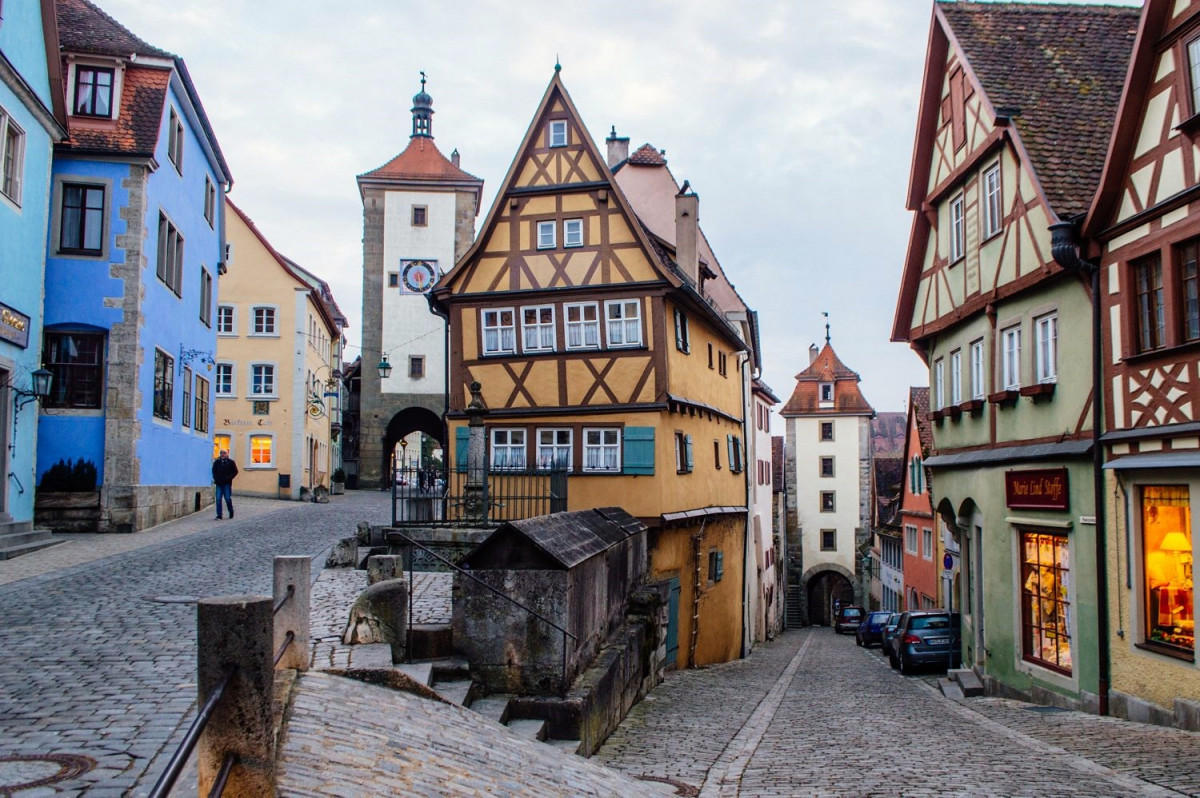 Alemania Rothenburg Ob Der Tauber