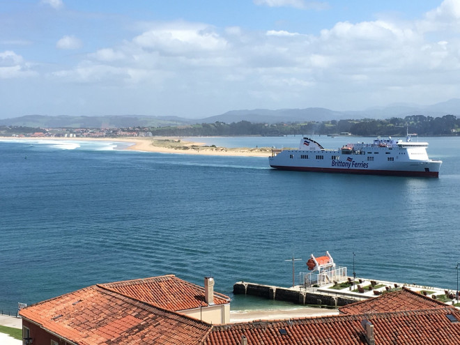Brittany Ferries Conmemora
