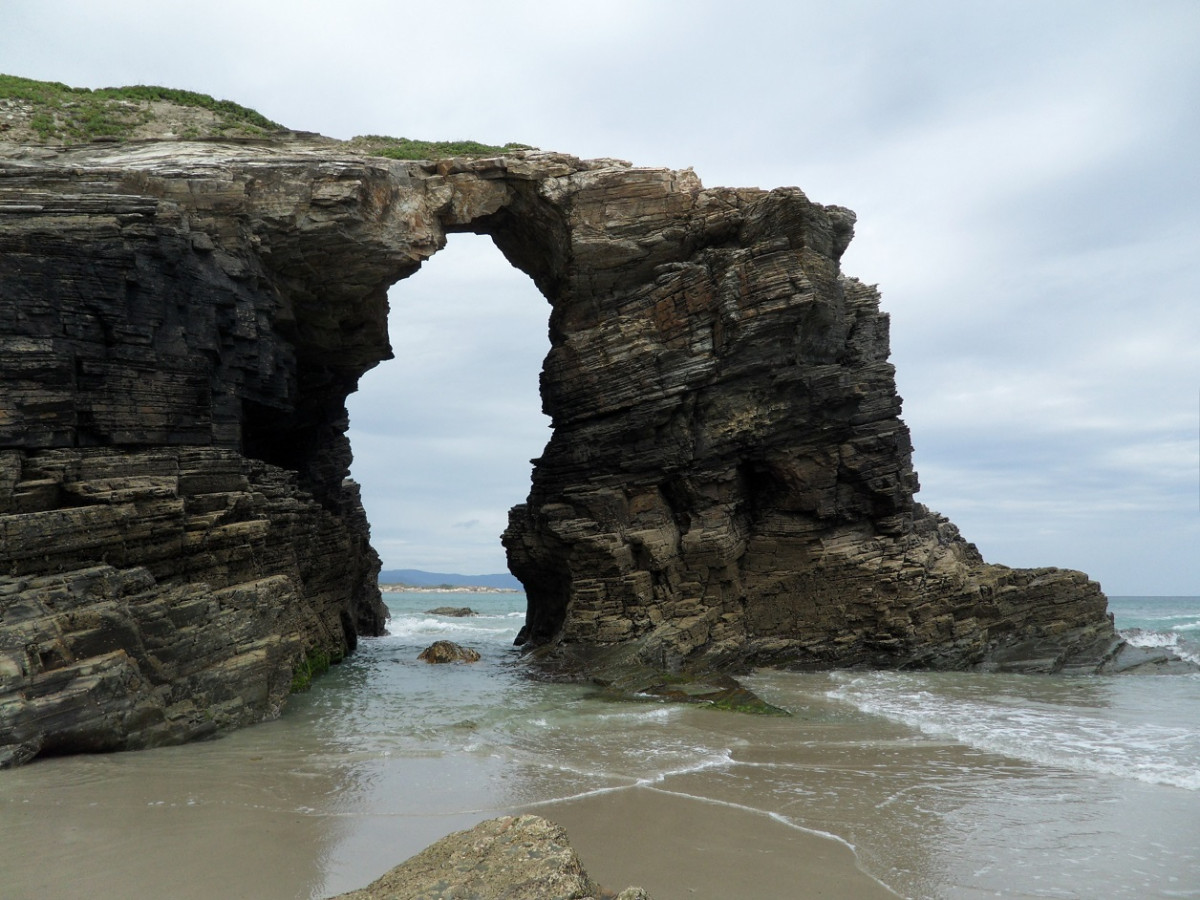 Playa das catedrales, lym 1256