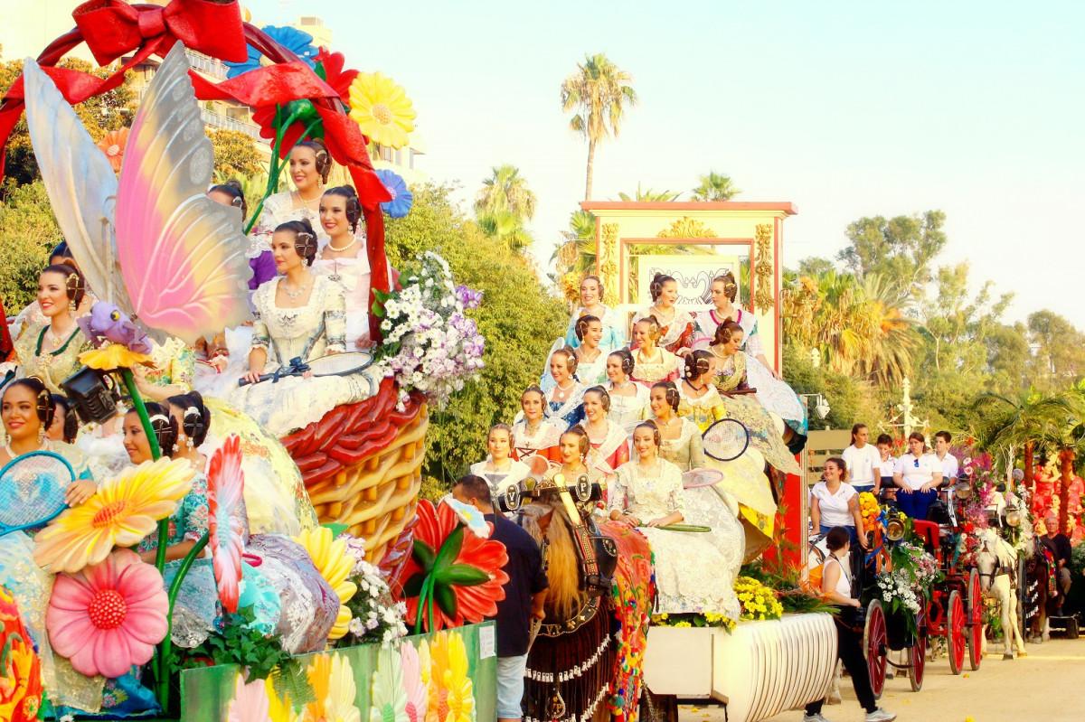 Valencia Batalla de Flores 3