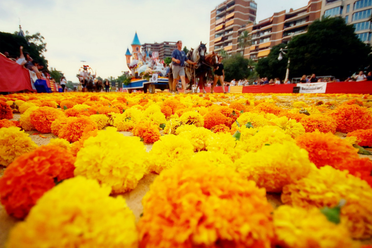 Valencia Batalla de flores