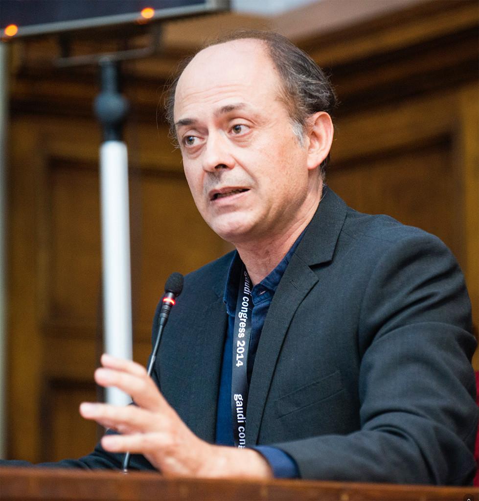 Gaudi World Congress14. Antonio Sama Garcia. Restaurador e Historiador de Arte y Patrimonio Cultural