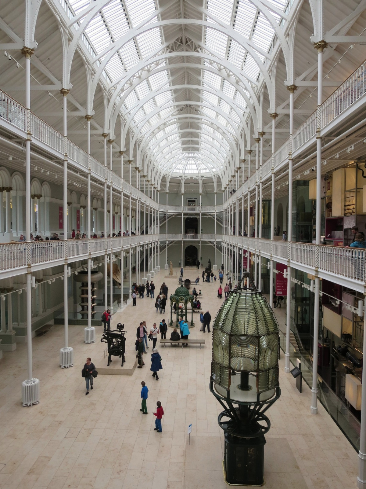 Edinburgh museum in Edinburgh