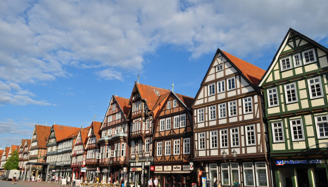 Celle, Alemania Les maisons de Stechbahn, Celle,