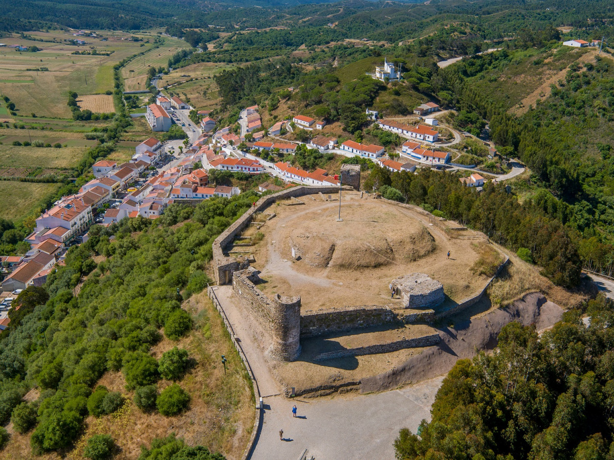 Portugal Castillo de Aljezur, Algarve