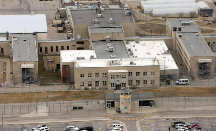 The Utah State Prison and surrounding area in Salt Lake County Friday,