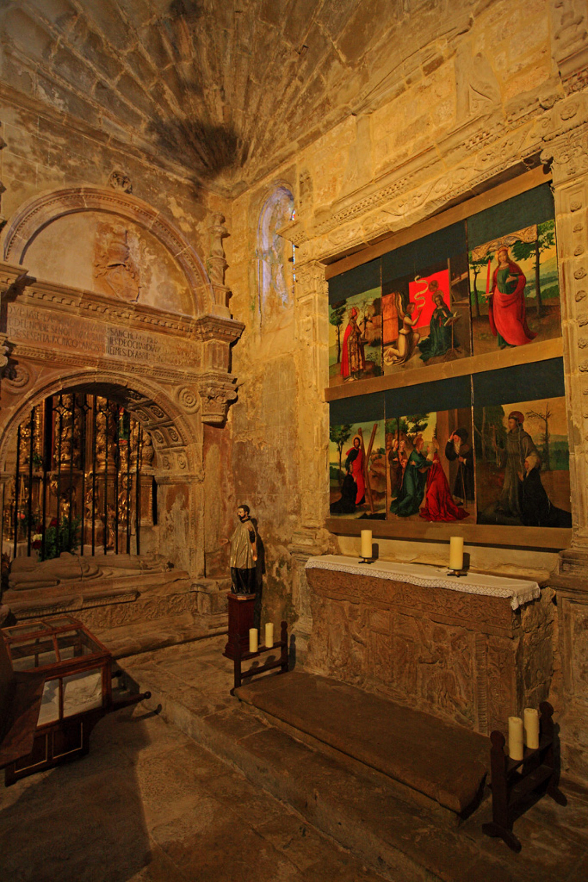Frias21. Iglesia de San Vicente Martir. Capilla de la Visitacion