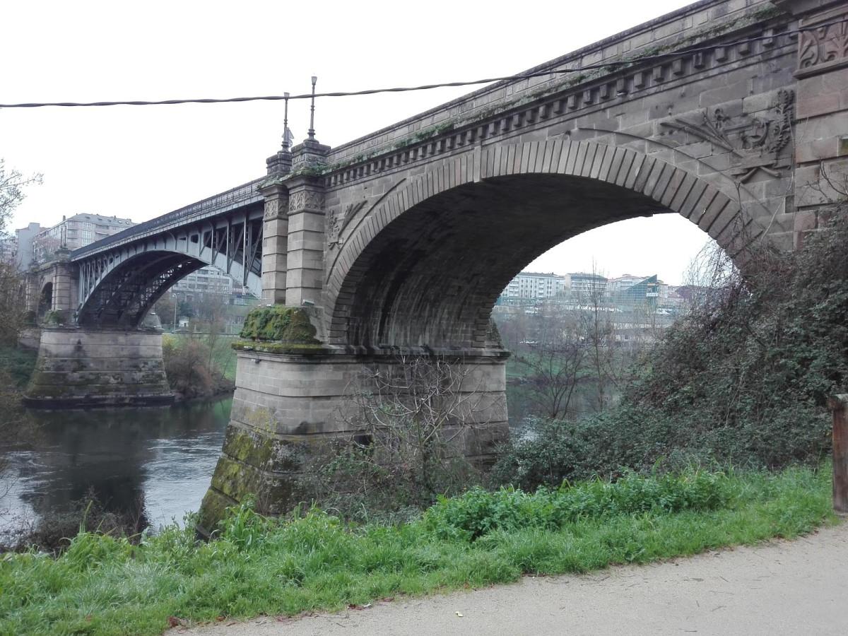 Ourense Ponte de Ferro, puente nuevo