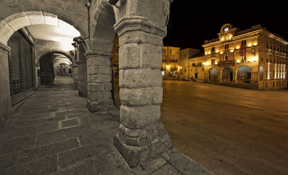Ourense Plaza mayor ver 1560