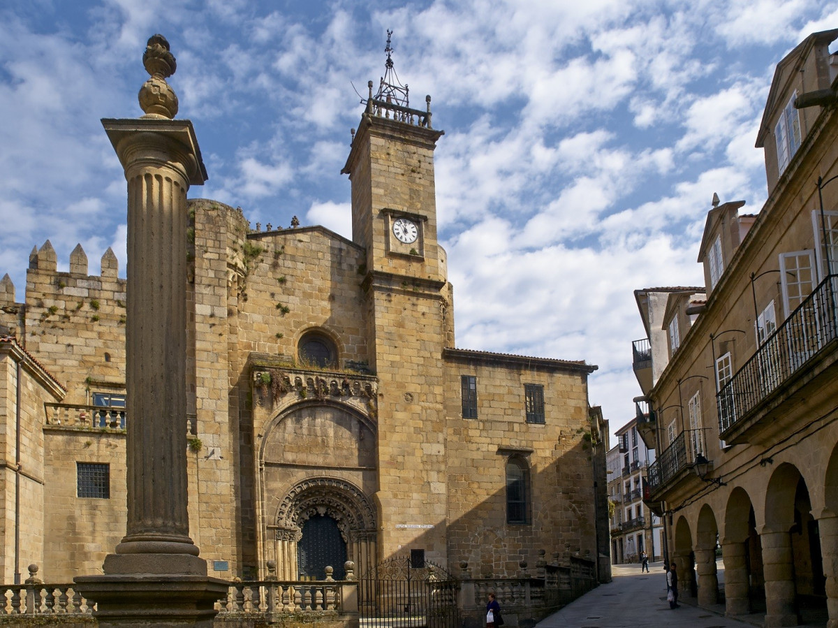 Ourense catedral de Ourense Plaza del trigo