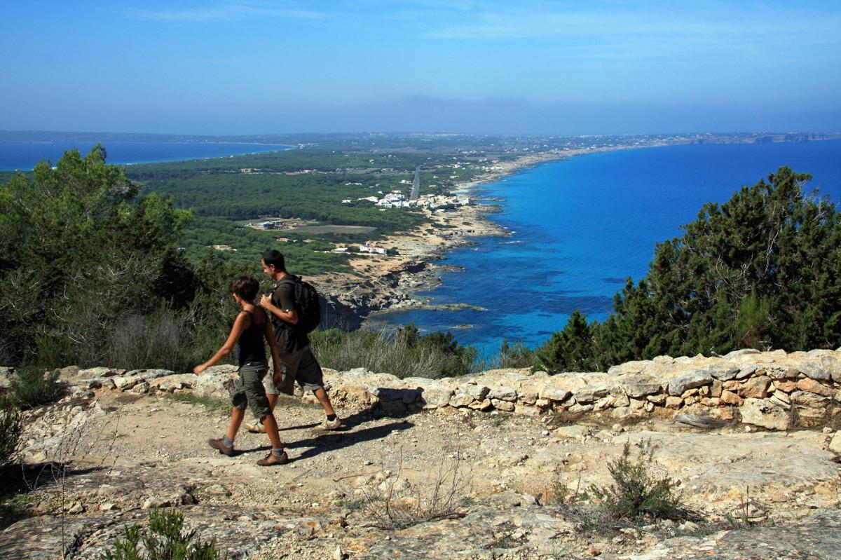 Formentera Rutes verdes Turisme de Formentera