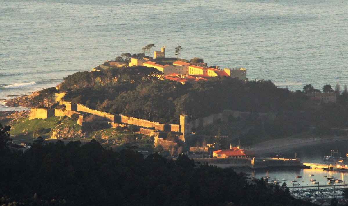 Baiona Pontevedra Castillo de los Condes de Gondomar parador (2)