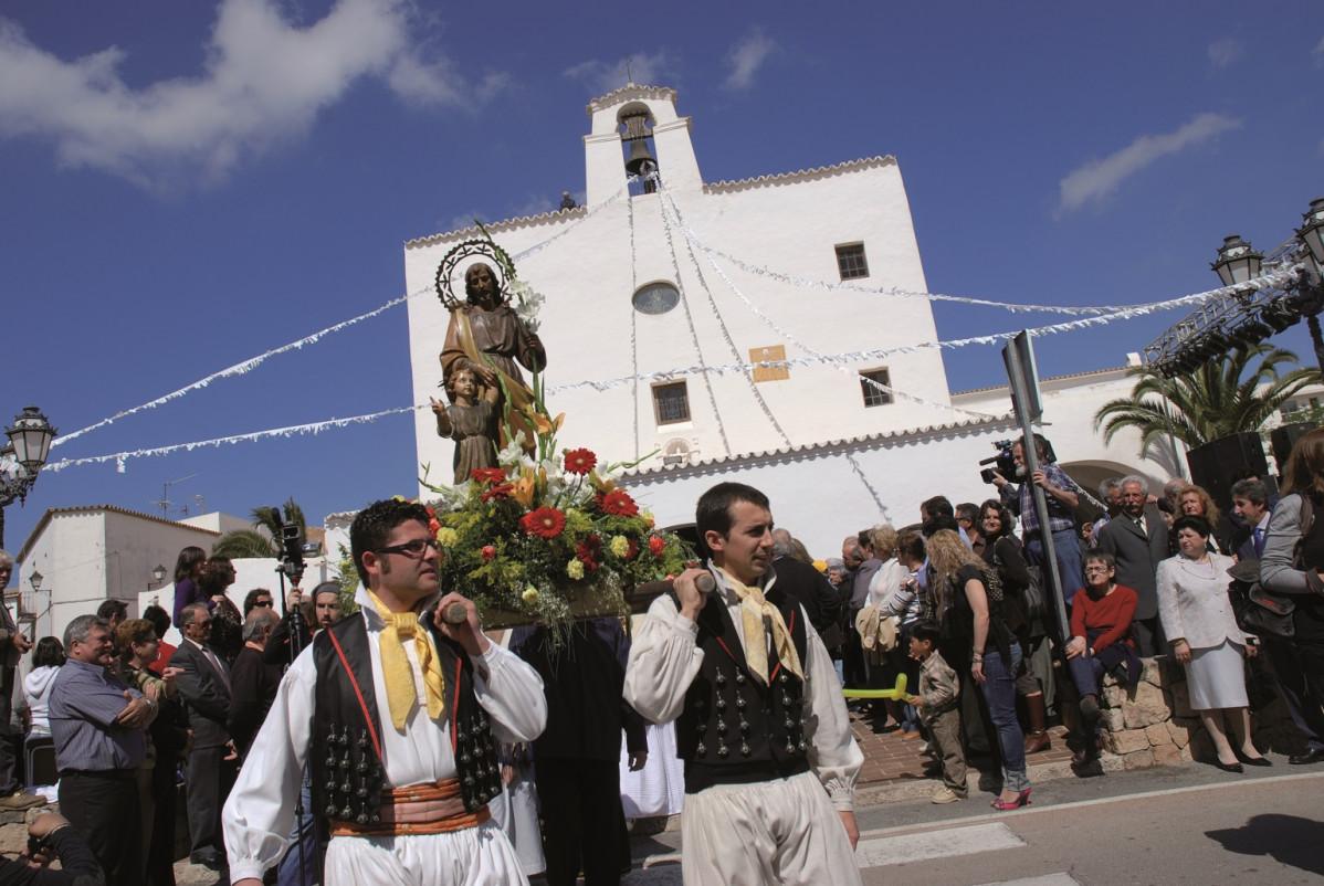 Procesiu00f3n fiestas Sant Josep   CE  1538