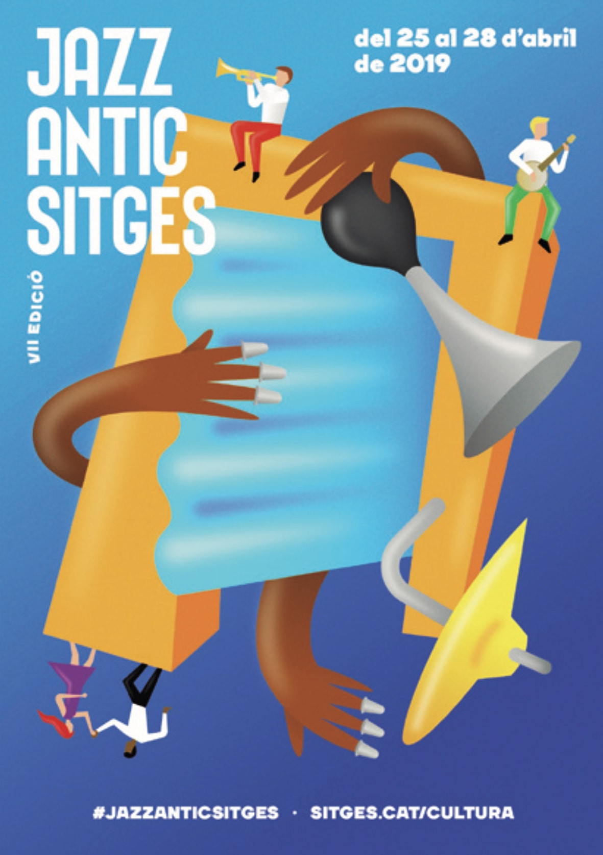 01 Festival Jazz Antic Sitges   Cartel min