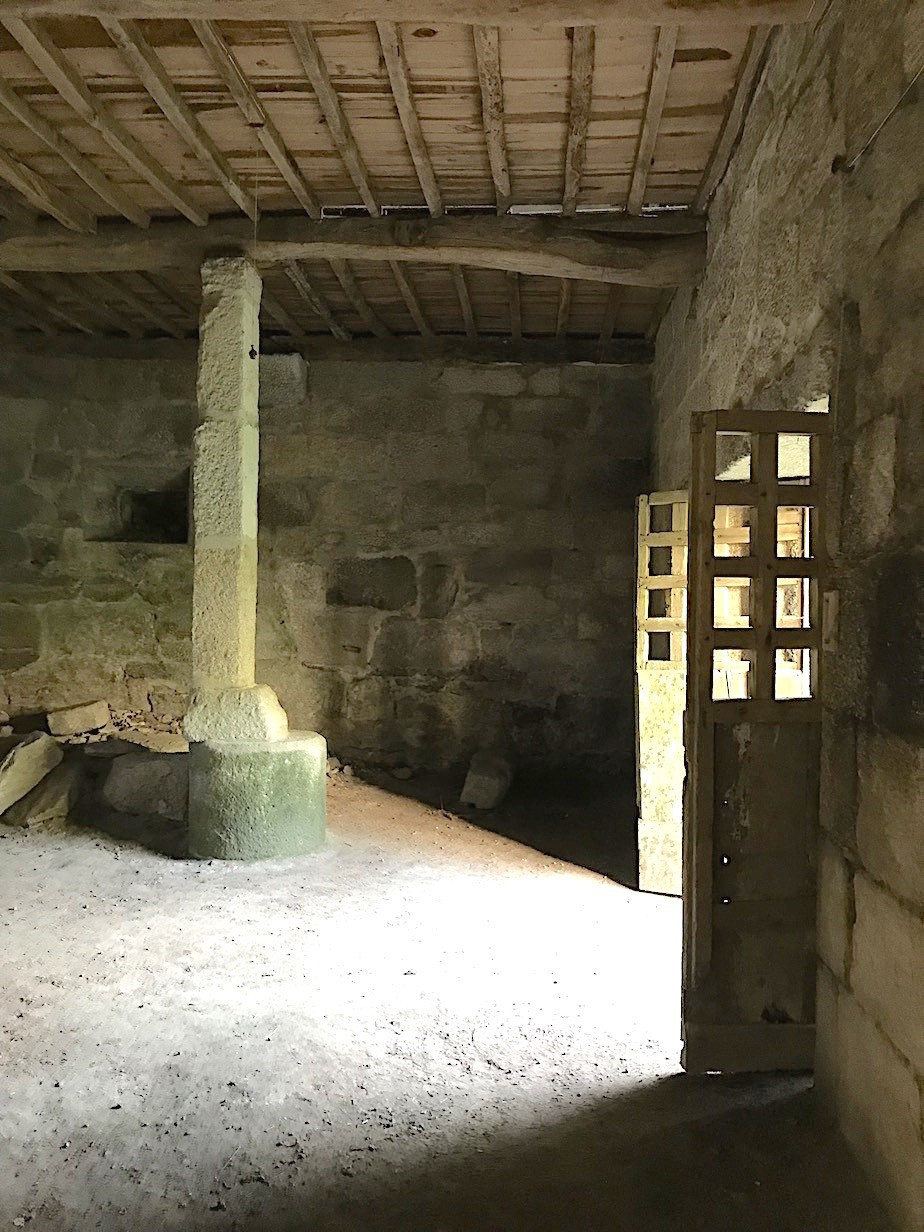 La casa prioral de Beiro, bodega