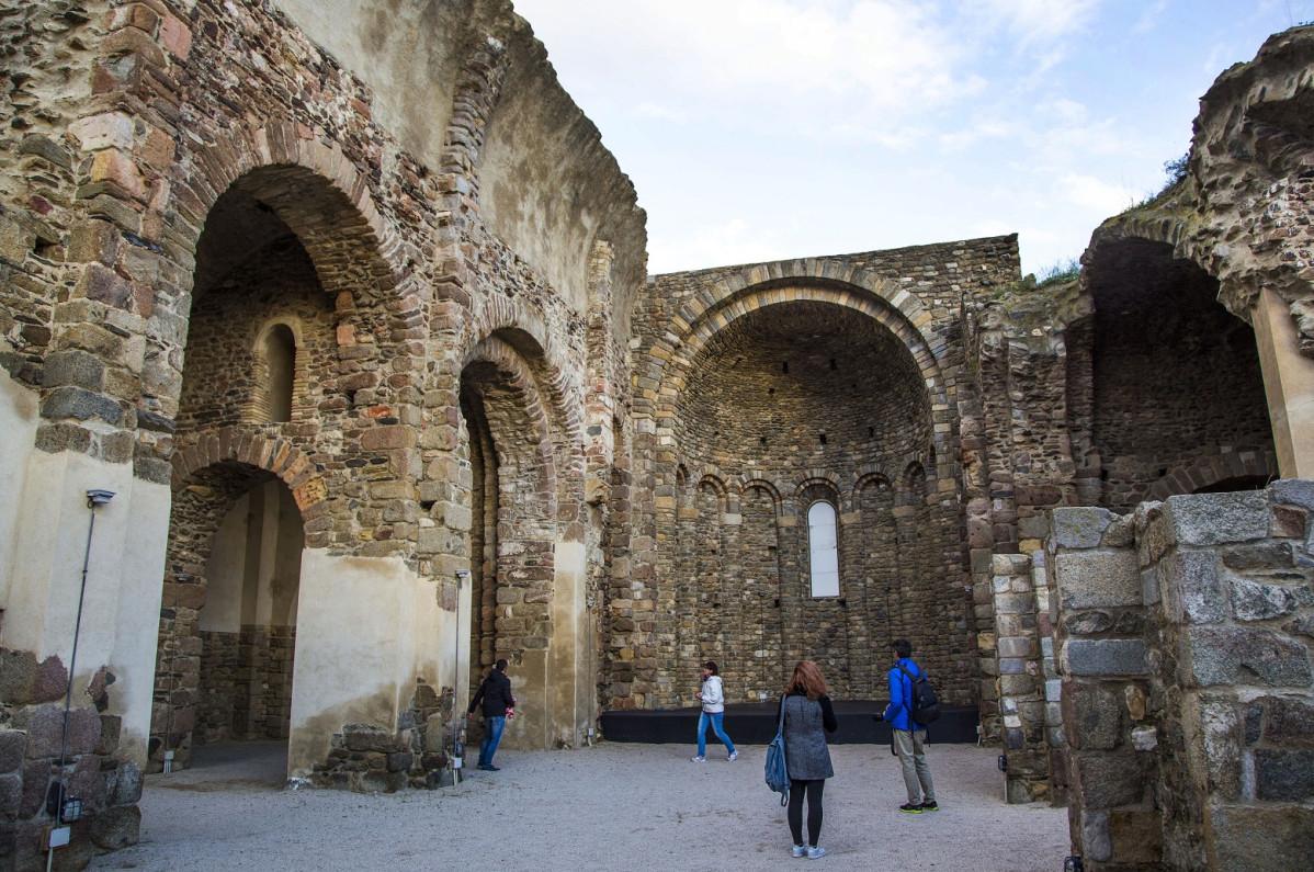 ROSES   Ciudadela  Iglesia Sant Francesc 1500