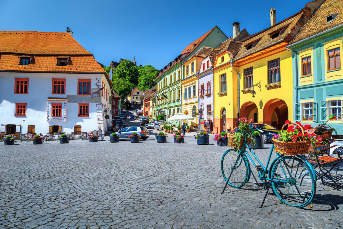 Sighisoara, Romania ...