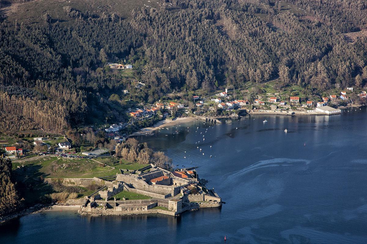 Ferrol castelo san felipe ferrol