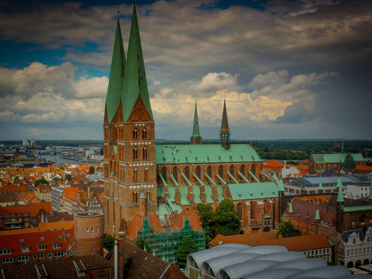 Alemania Lubeck, Catedral
