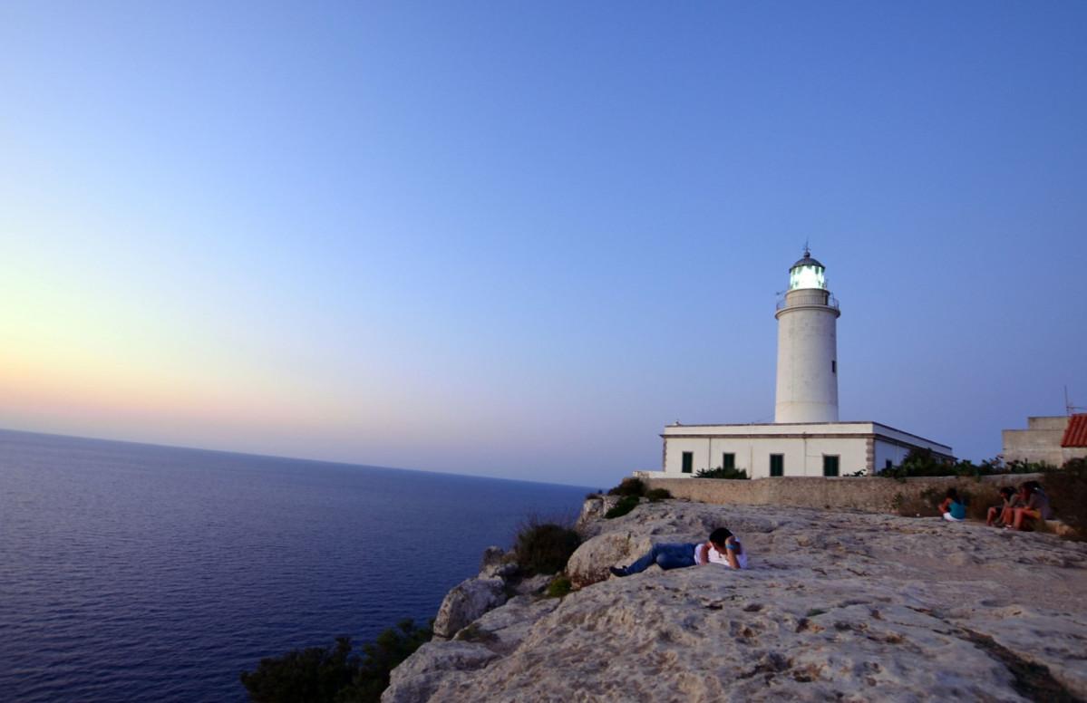 Formentera Faro de la Mola   Amanecer