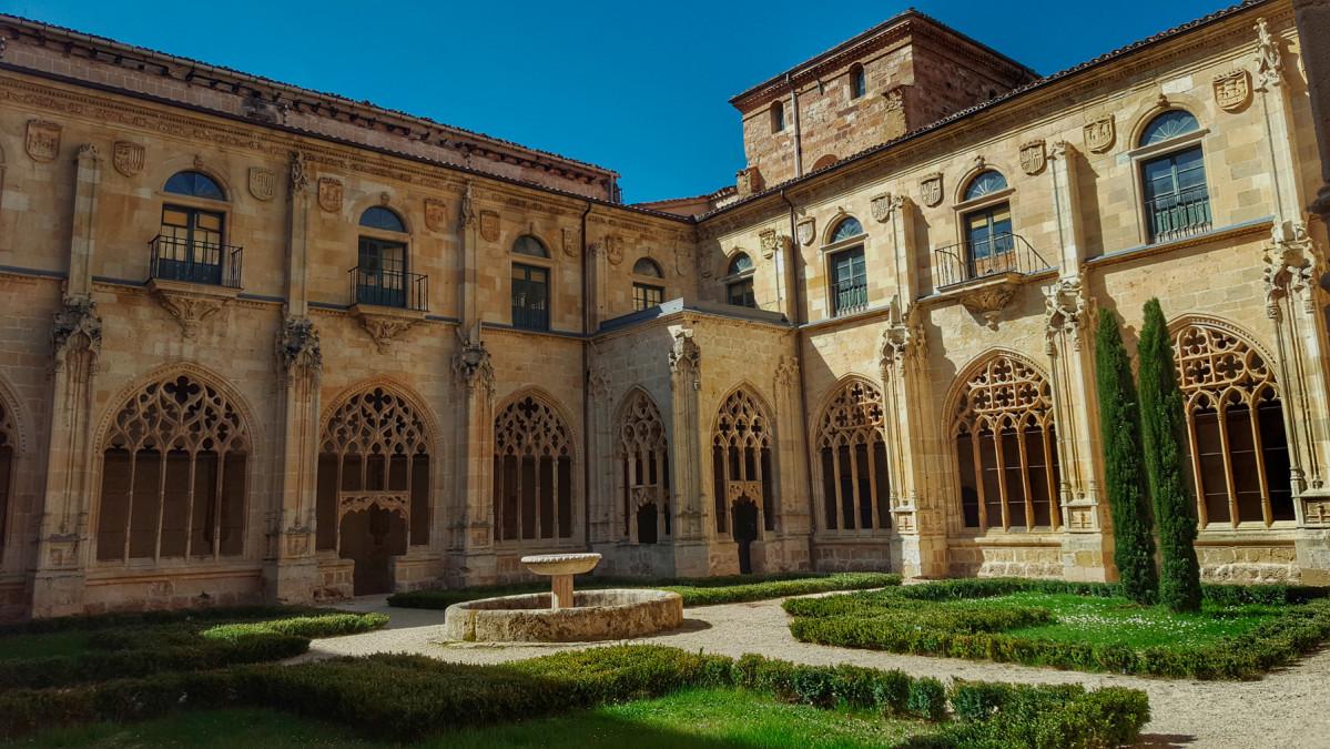 El monasterio de San Salvador de Oña,