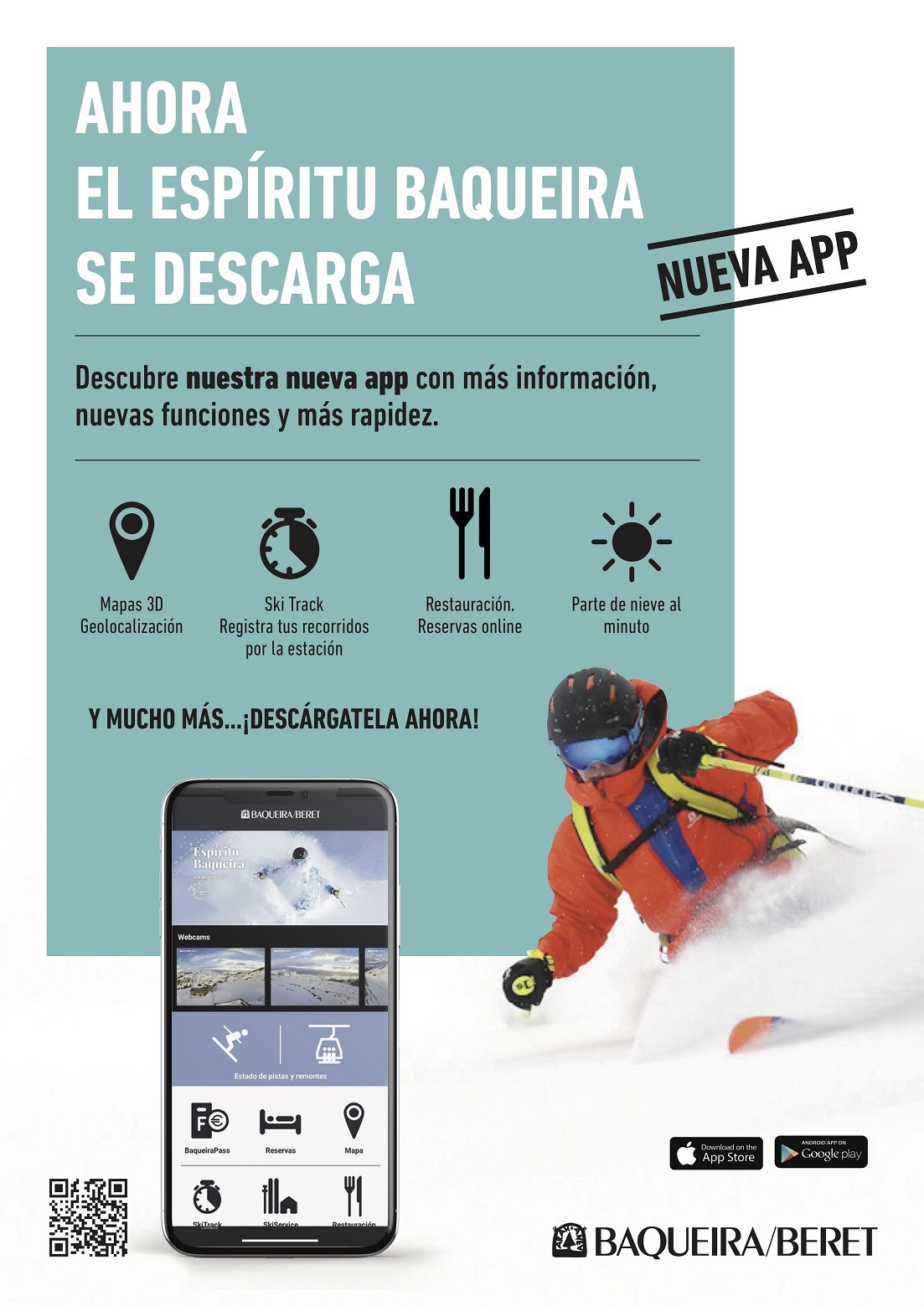 APP Display Baqueira