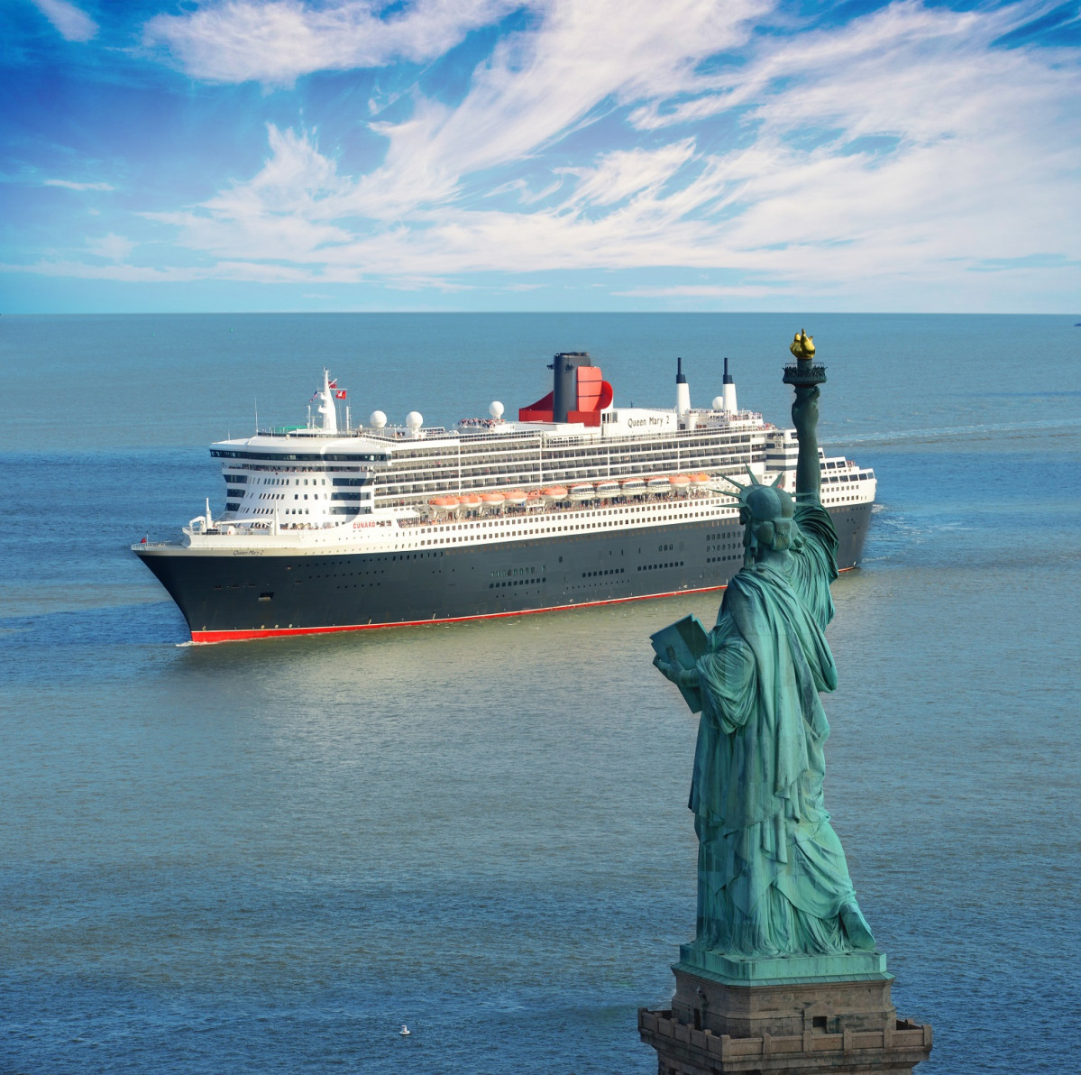 Queen Mary 2 en Nueva York 1524