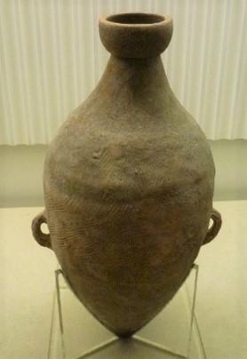 u00c1nfora de la cultura Yangshao, Banpo, Shaanxi, 4800 3600 a. C. BC (Foto Kupfer)