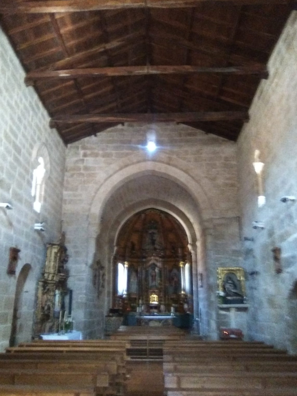 Ribadavia Iglesia de San Juan Interior actual