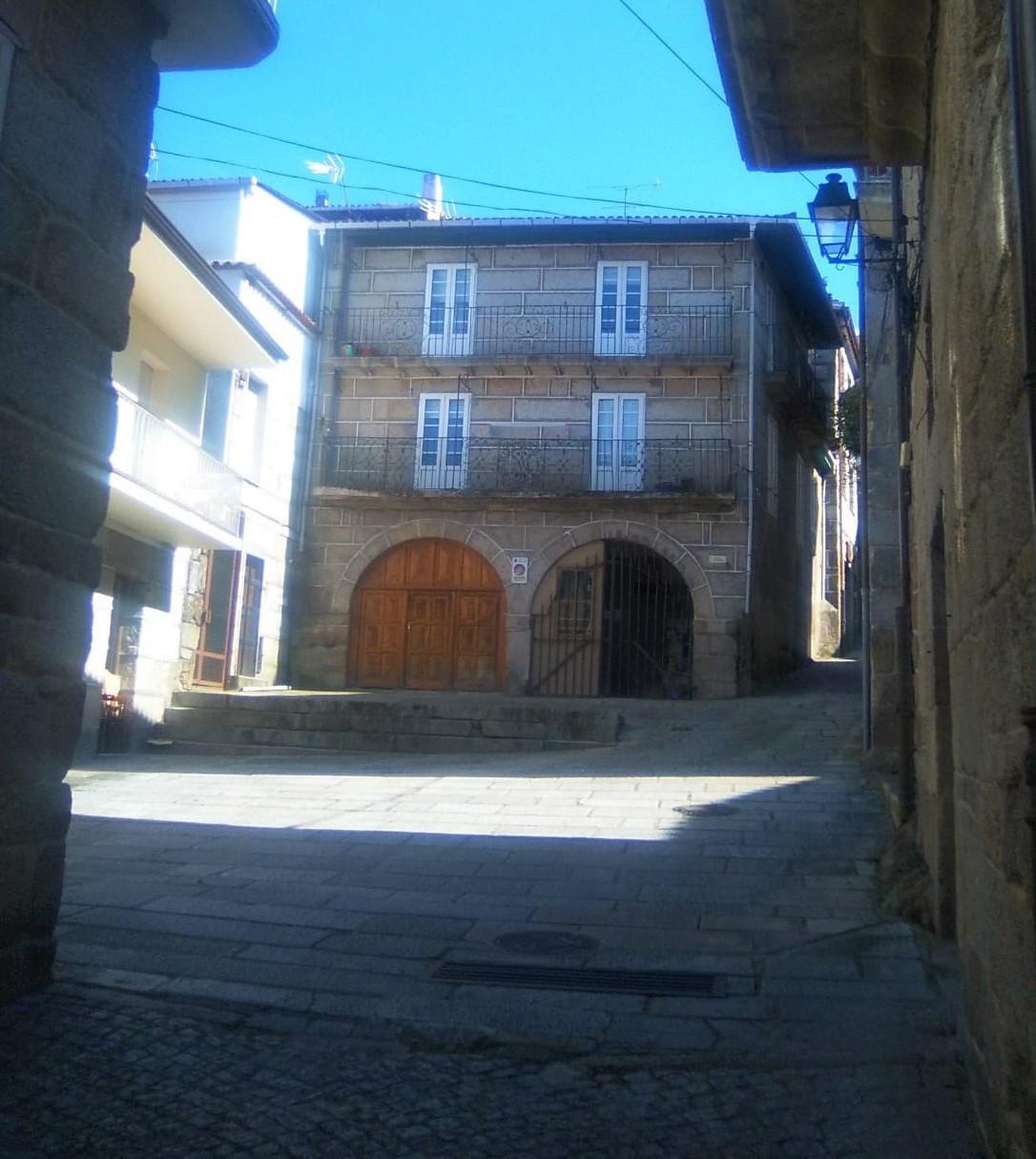 Ribadavia Plaza de Serrallo en la actualidad 1200