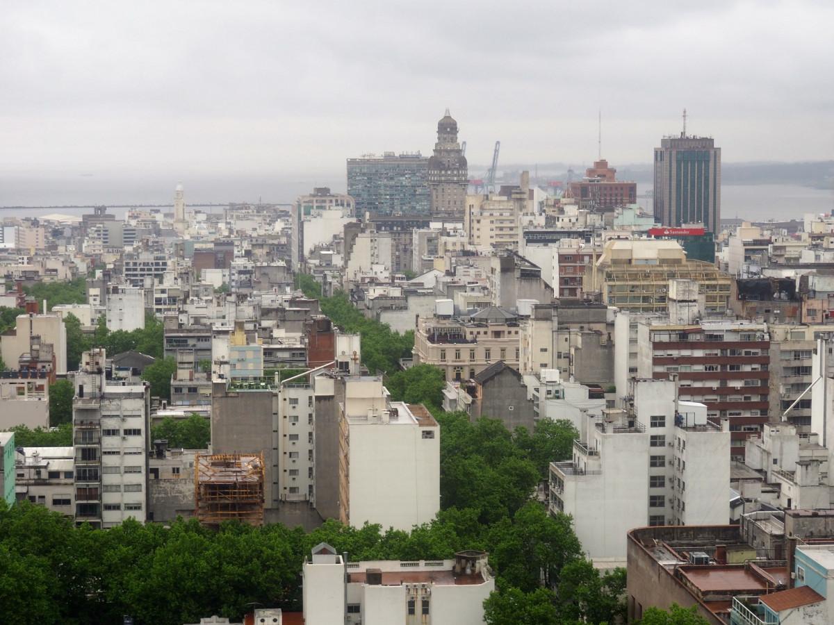 Vista de Montevideo desde Mirador de la Intendencia 2020 1600