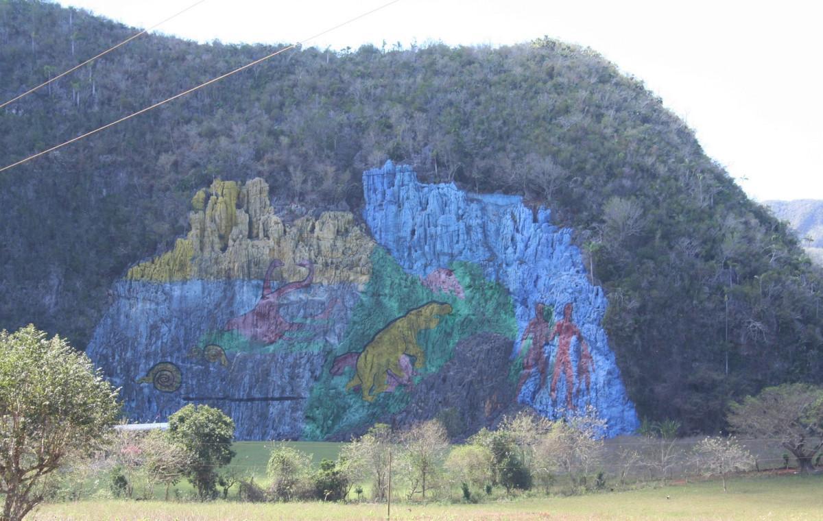 Viu00f1ales, Cuba Mural de la prehistoria, miu00f1a 1600