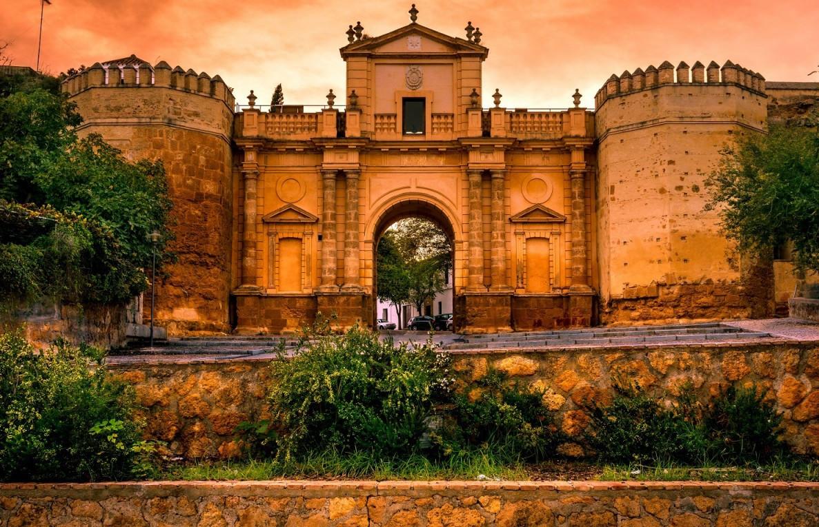 Puerta de Cu00f3rdoba. Carmona. Provincia de Sevilla. Andalucu00eda. 1500