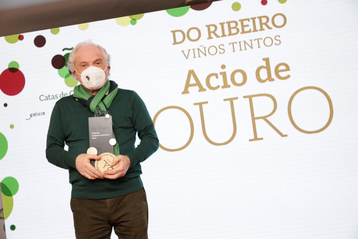 201112 MR Gañadores Catas de Galicia DO Ribeiro TINTO ACIO OURO