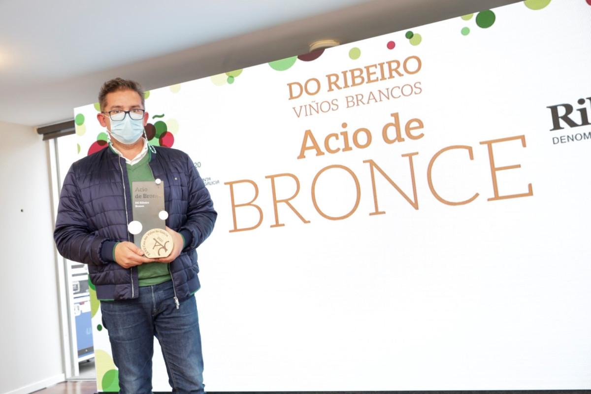 201112 MR Gañadores Catas de Galicia DO Ribeiro BRANCO ACIO DE BRANCE