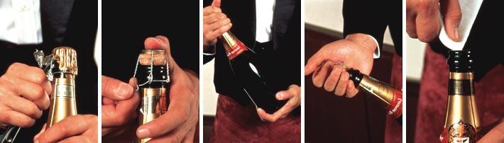 Ouverture de bouteille