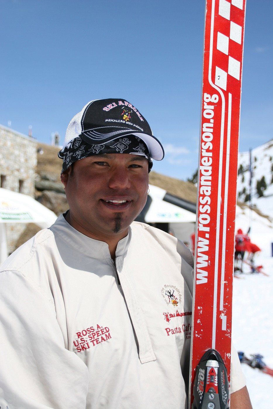 Ross Anderson skier