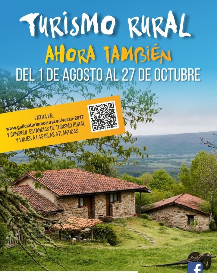 89b54b91f79dc Sorteos de estancias de Turismo Rural y viajes a las Islas Atlánticas para  fomentar la oferta complementaria en la segunda edición