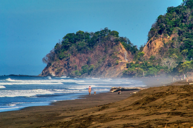 Playa hermosa, Costa Rica, 2019, 1600