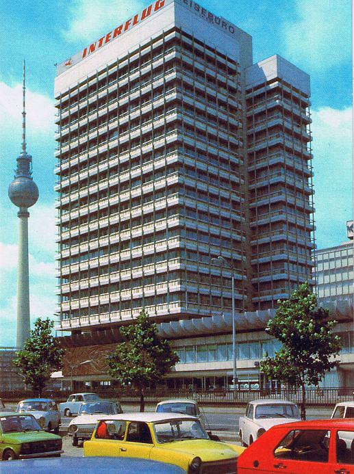 Sede Central de Interflug en Berlin Alexanderplatz