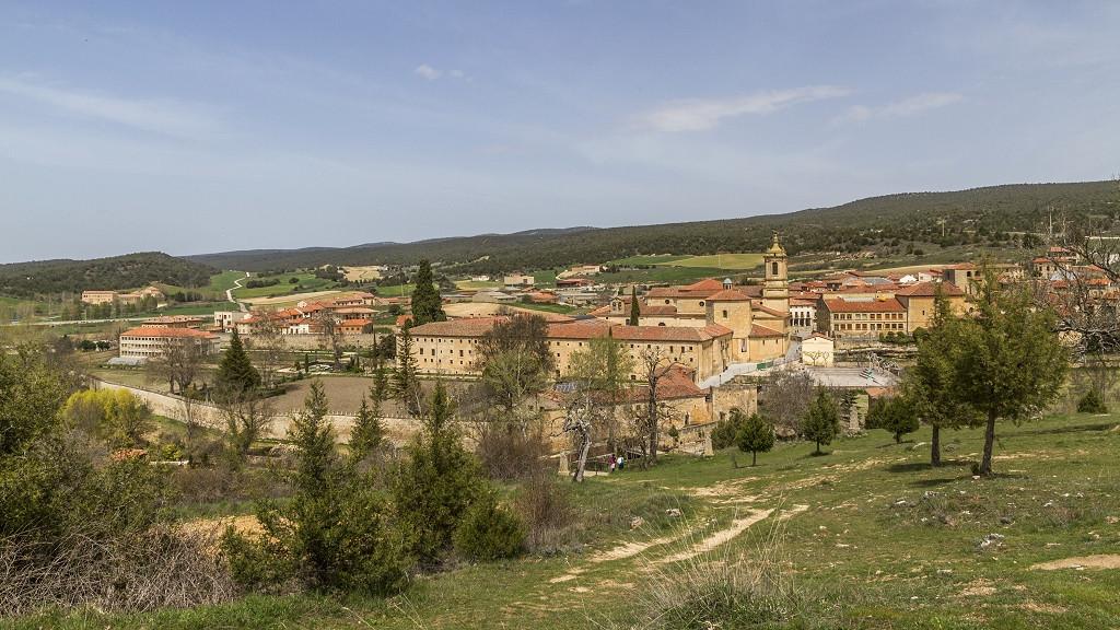 Vista de Santo Domingo de Silos.