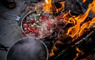 Steigen cooking seafood